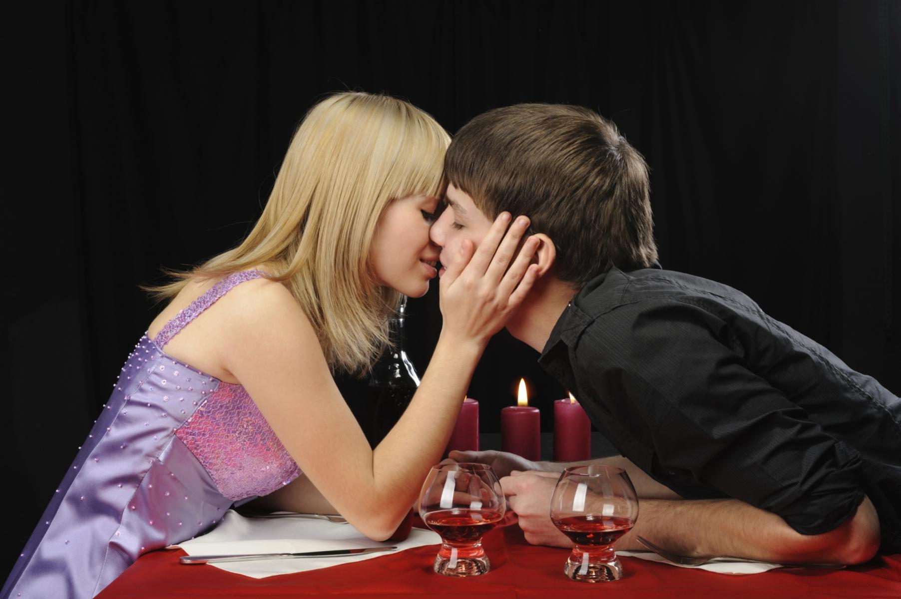 Una noche romántica y de pasión